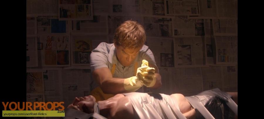 Dexter original movie prop
