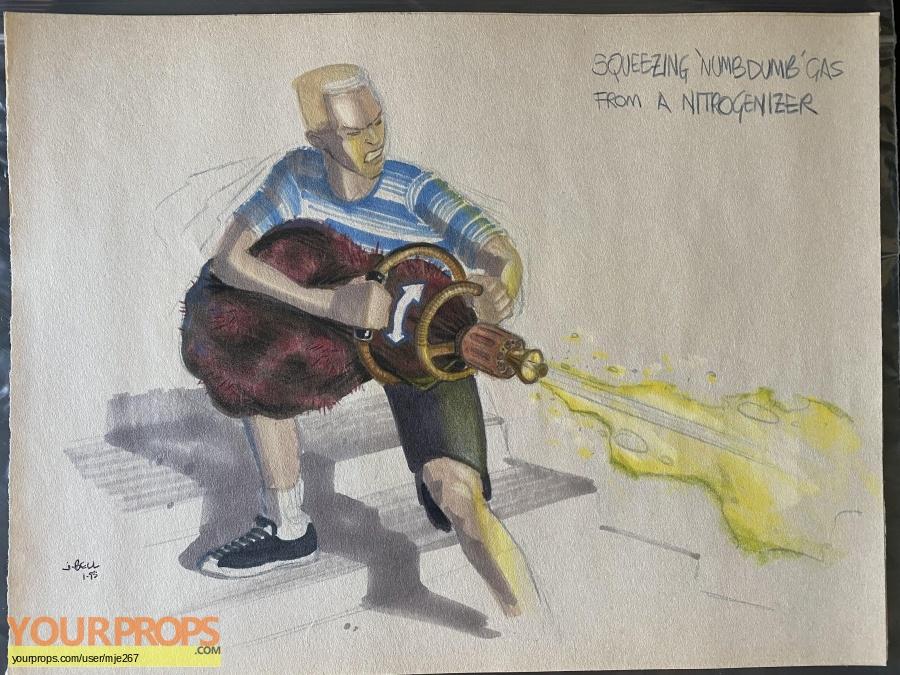 Men in Black original production artwork