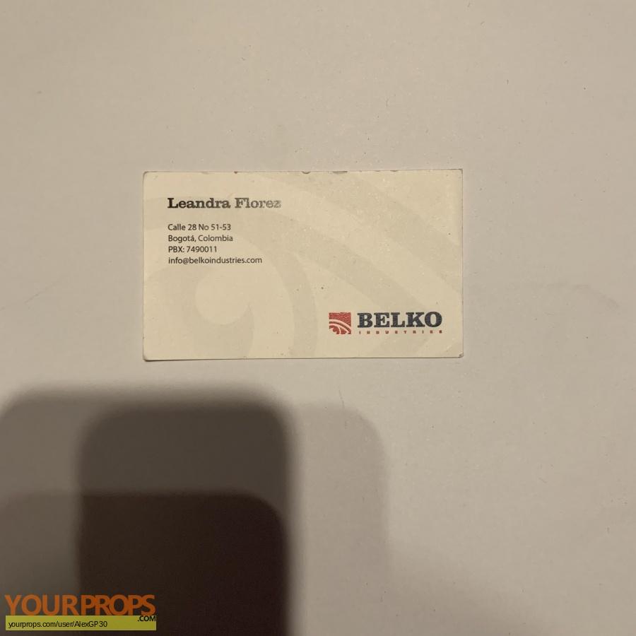 The Belko Experiment original movie prop