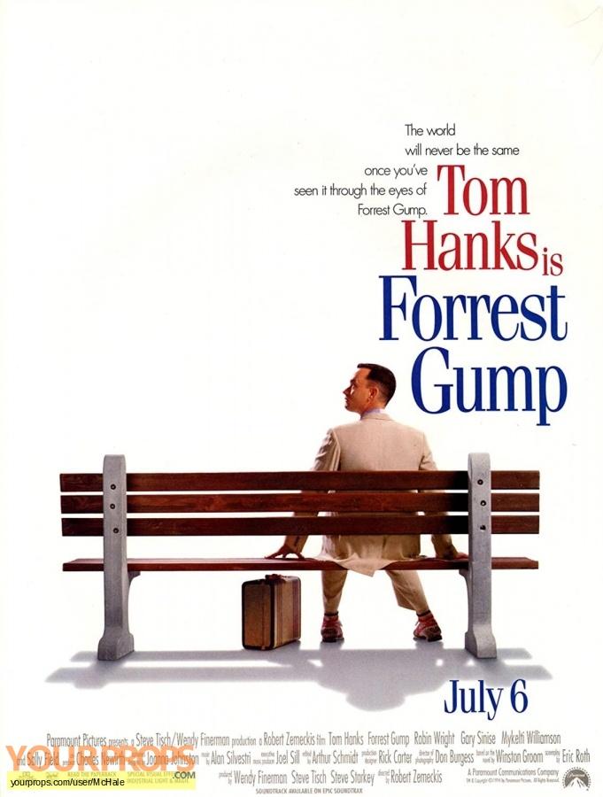 Forrest Gump replica movie prop
