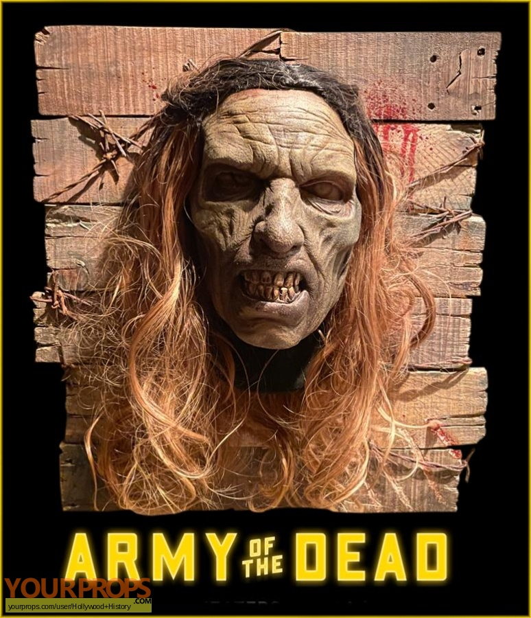 Army of the Dead original movie costume