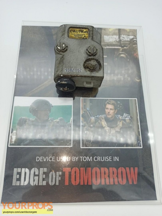 Edge Of Tomorrow original movie prop
