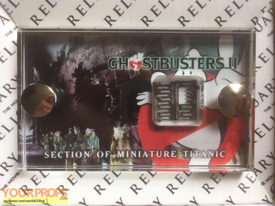 Ghostbusters 2 original model   miniature