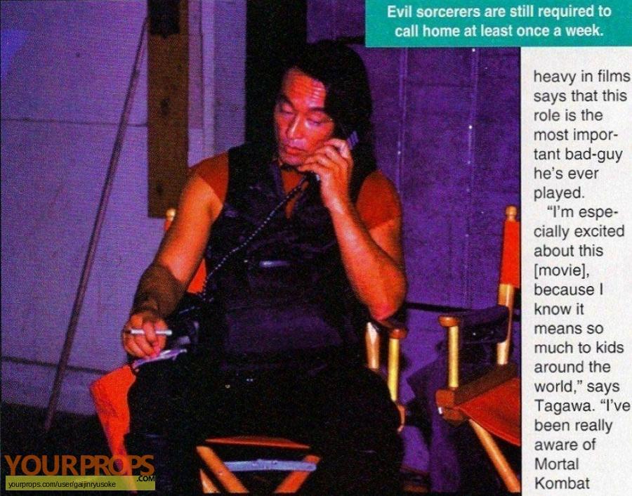 Mortal Kombat original production material