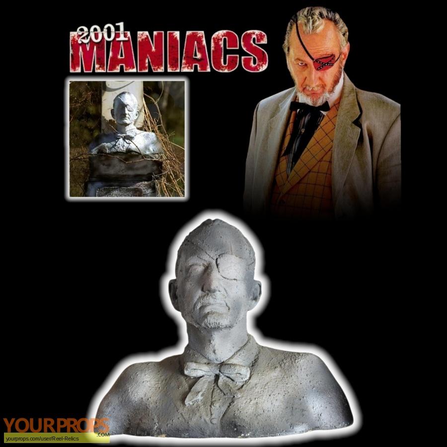 2001 Maniacs original movie prop