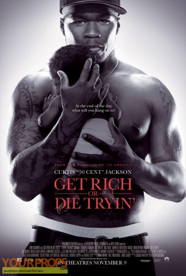 Get Rich or Die Trying original production material