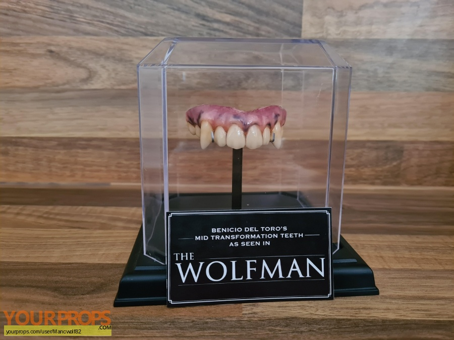 The Wolfman original movie prop