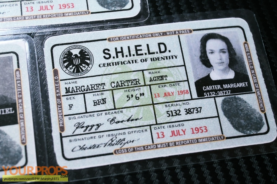 Agents of S H I E L D  made from scratch movie prop
