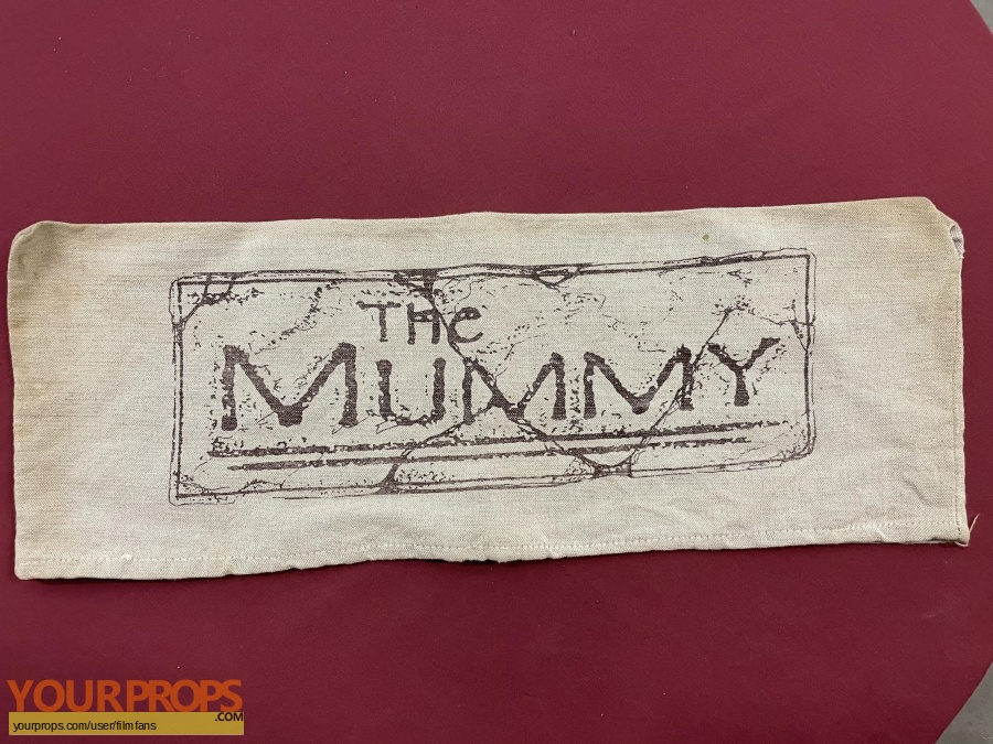 The Mummy original production material