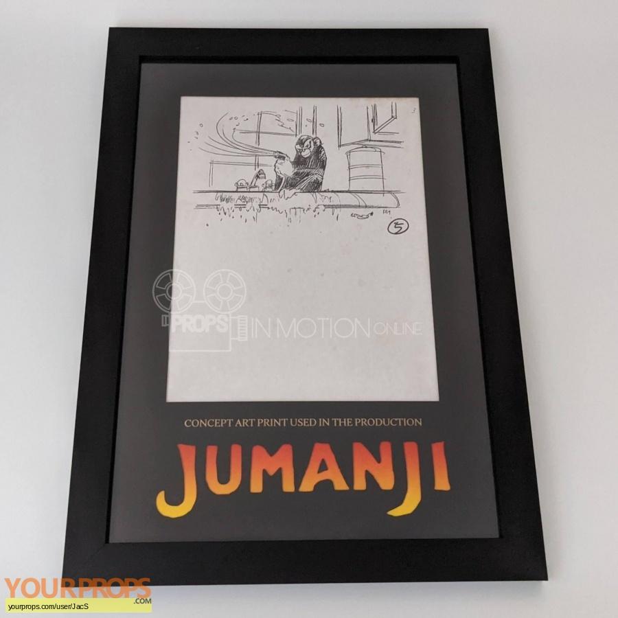 Jumanji original production artwork