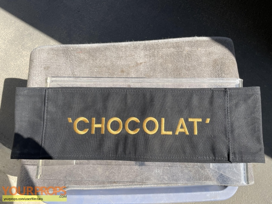 Chocolat original production material