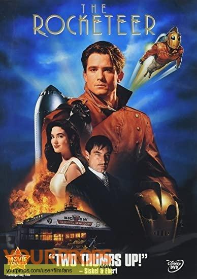 The Rocketeer original movie prop