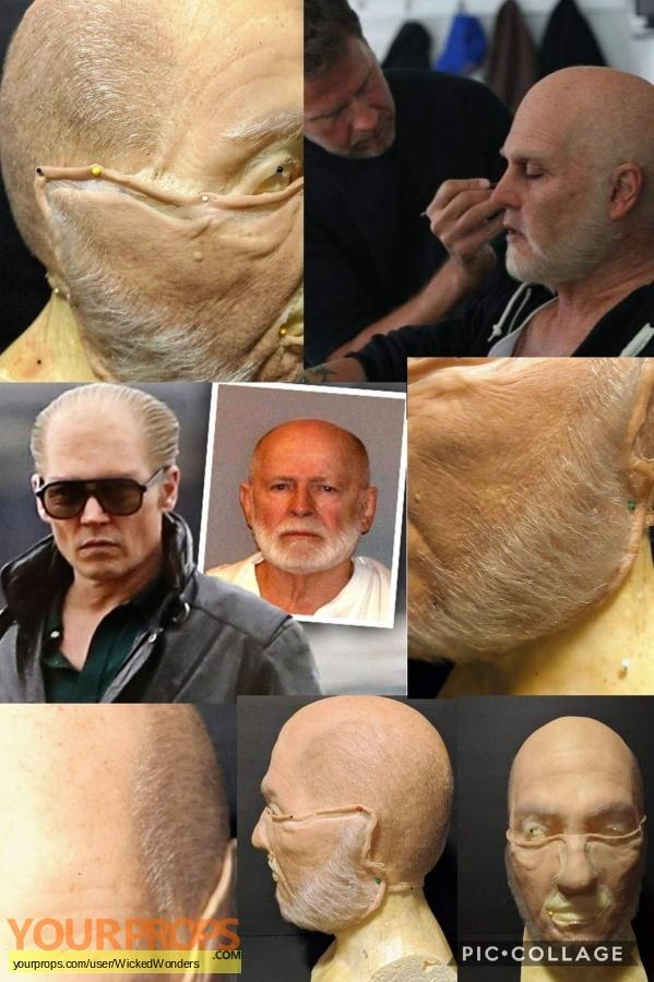 Black Mass original make-up   prosthetics