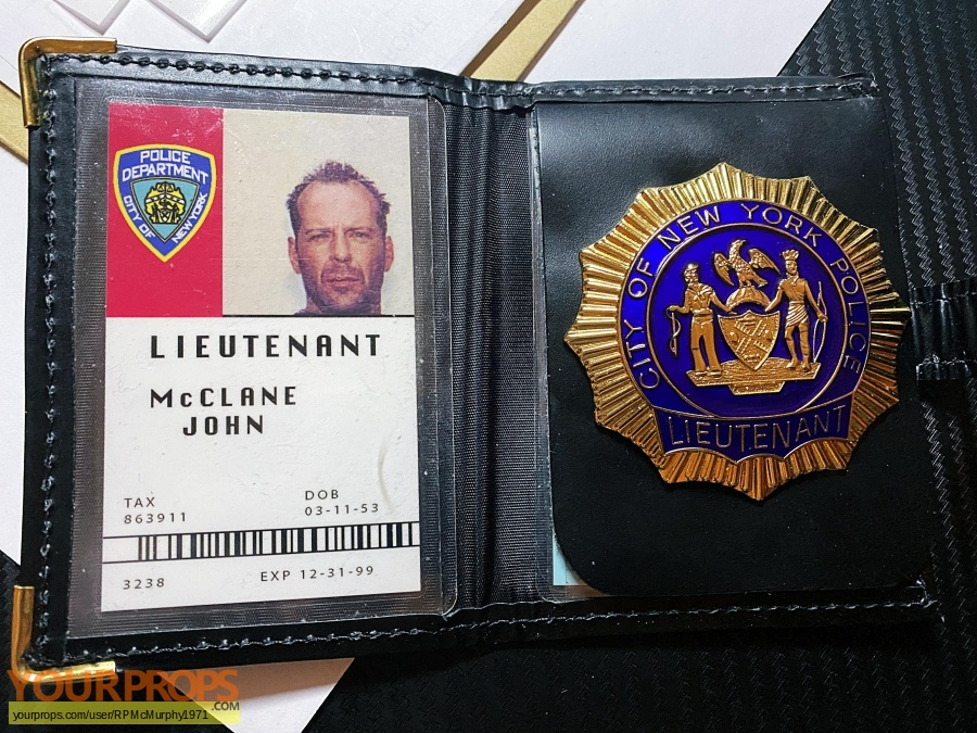 Die Hard  With A Vengeance made from scratch movie prop