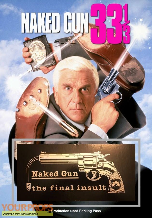 Naked Gun 33 1 3  The Final Insult original production material