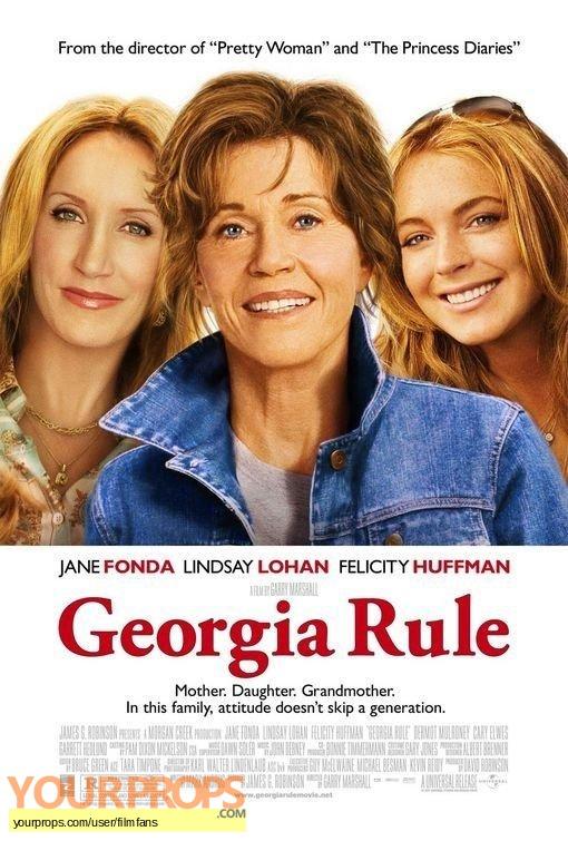 Georgia Rule original production material