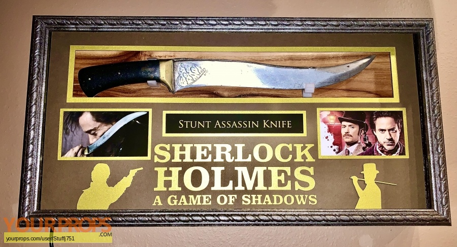 Sherlock Holmes  A Game of Shadows original movie prop