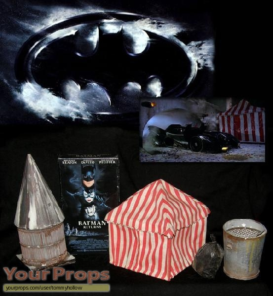 Batman Returns original set dressing   pieces