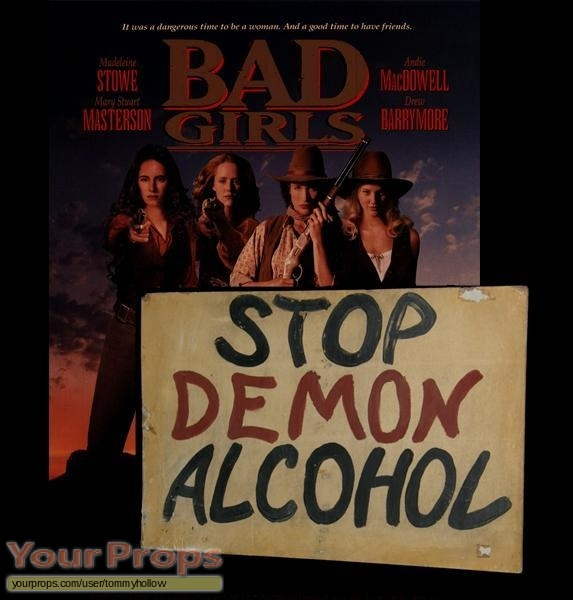 Bad Girls original movie prop