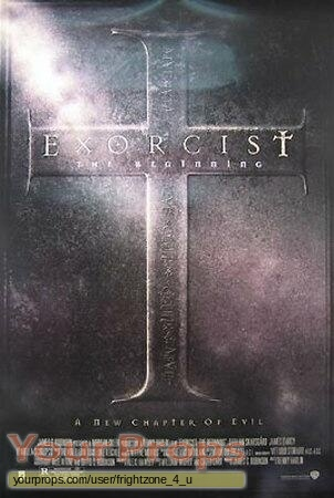 Exorcist IV  The Beginning original movie prop