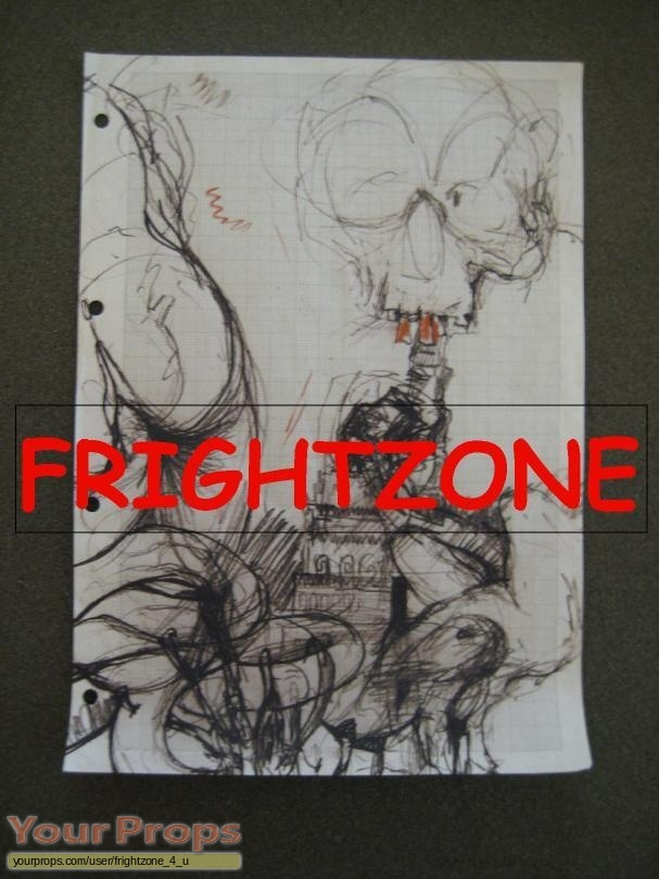 Exorcist IV  The Beginning original production artwork