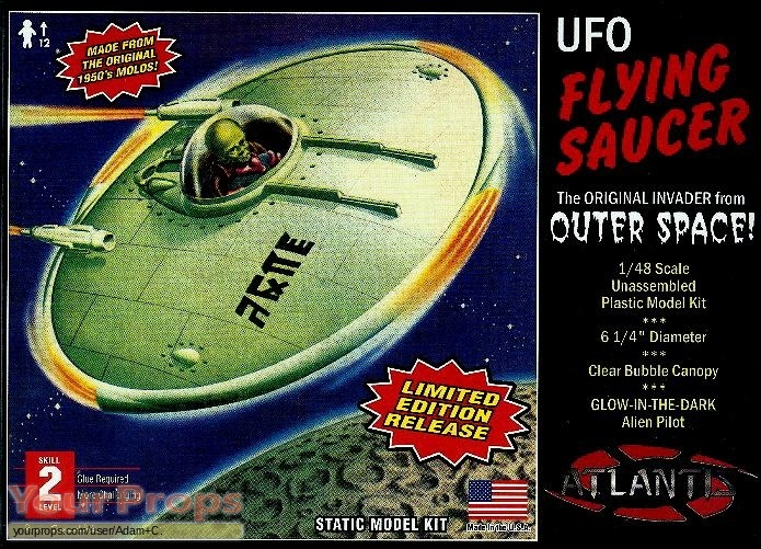 Plan 9 From Outer Space replica movie prop