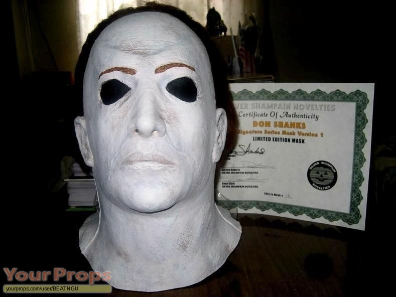 Halloween 5  The Revenge of Michael Myers original movie prop