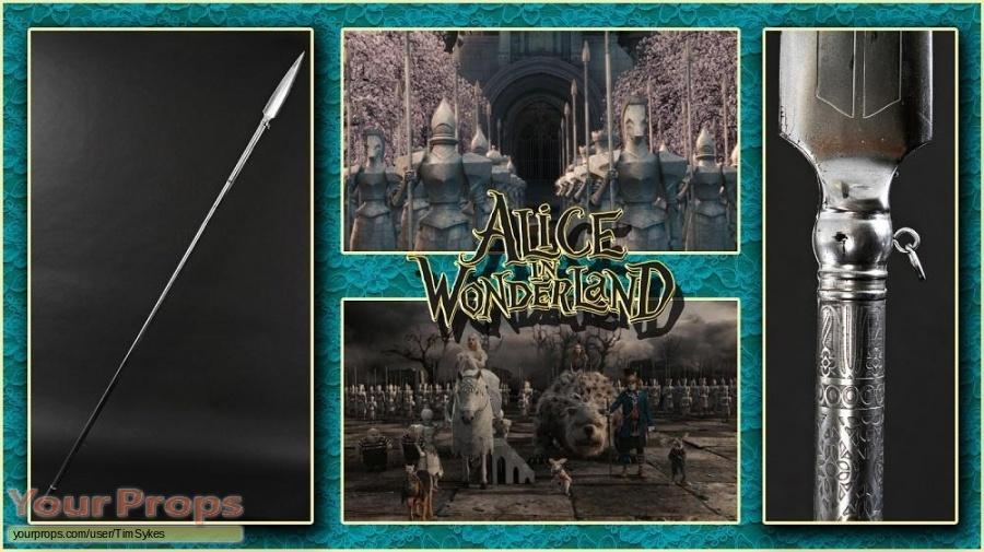 Alice In Wonderland original movie prop weapon
