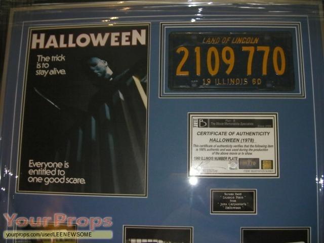 Halloween original movie prop