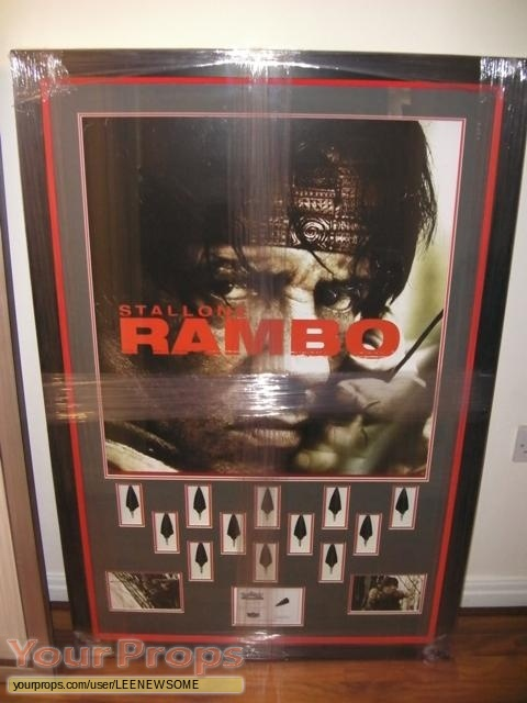 Rambo original movie prop weapon