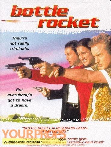 Bottle Rocket original movie prop