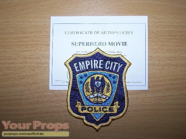 Superhero Movie original movie prop