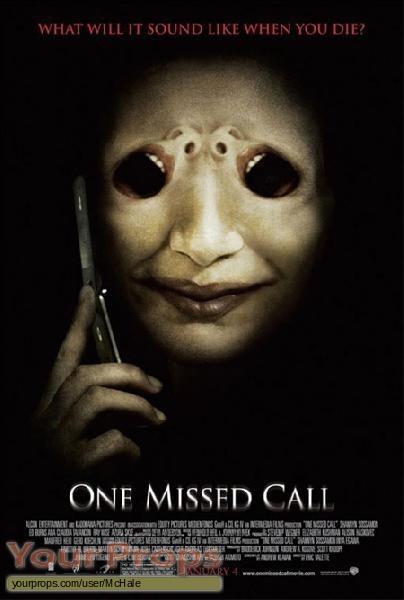 One Missed Call original movie prop