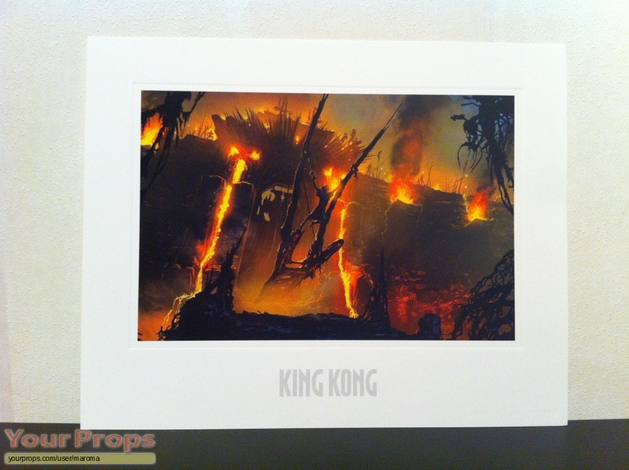 King Kong replica production material