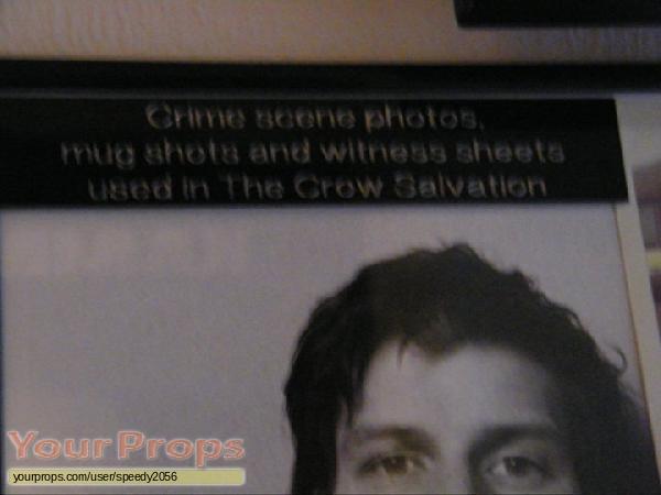 The Crow  Salvation original movie prop