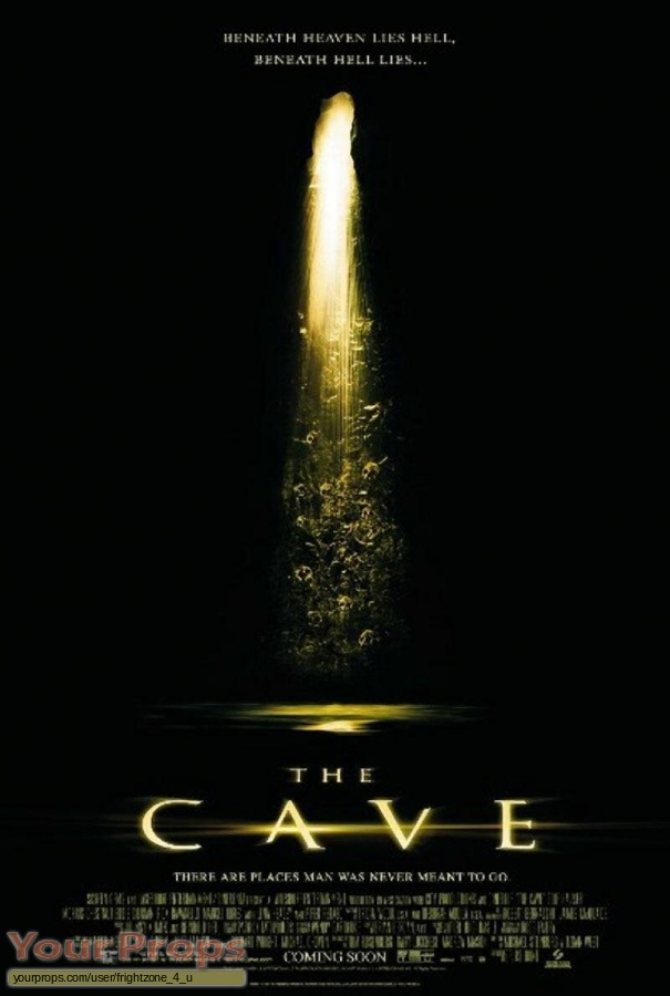 The Cave original movie prop