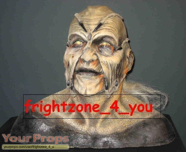 Jeepers Creepers original make-up   prosthetics