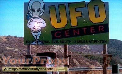 Roswell original movie prop