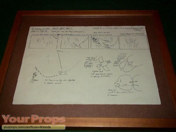 The Company of Wolves original production artwork