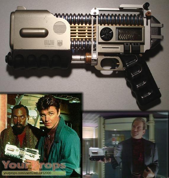TekWar original movie prop weapon