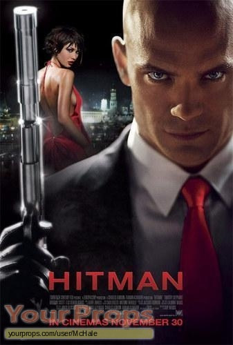 Hitman original movie prop