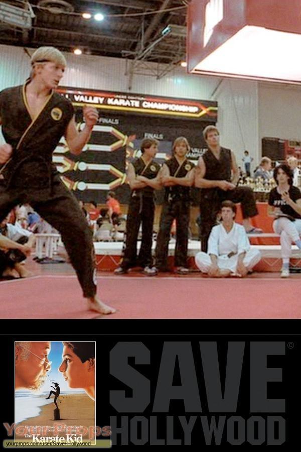 The Karate Kid original movie costume