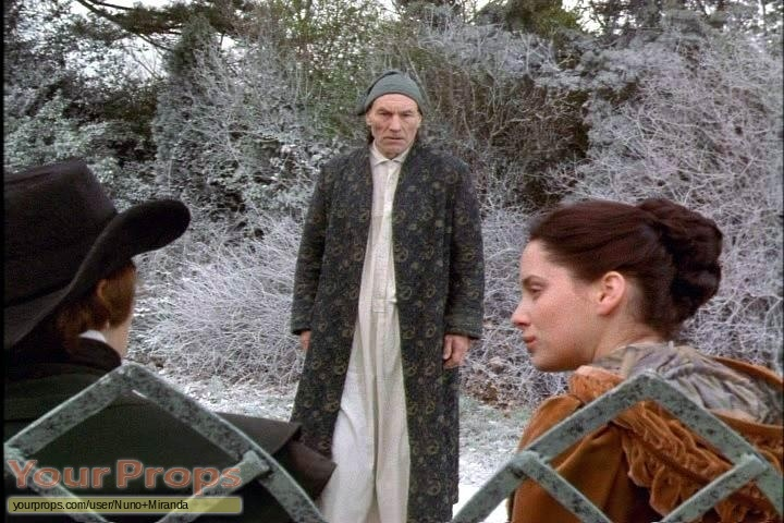 Original Christmas Carol Movie.A Christmas Carol Dressing Gown Used By Patrick Stewart As