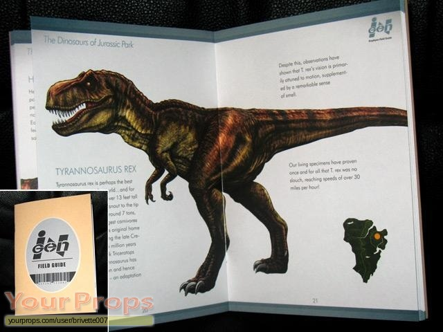 Jurassic Park  The Game (video game) replica movie prop
