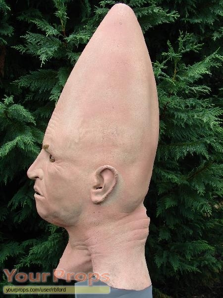 Coneheads original make-up   prosthetics