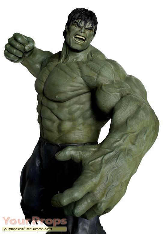 The Incredible Hulk replica movie prop