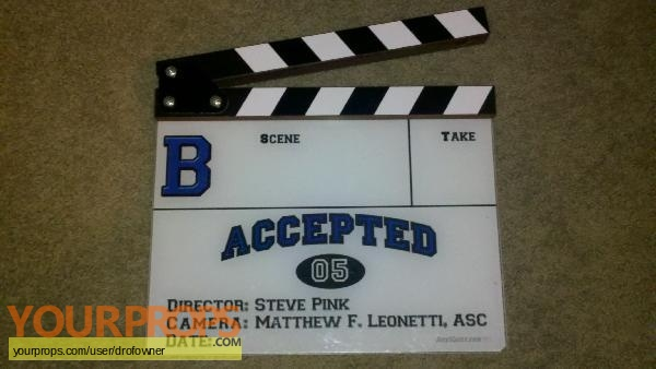 Accepted original production material