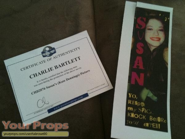 Charlie Bartlett original movie prop