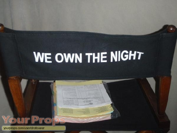 We Own the Night original production material