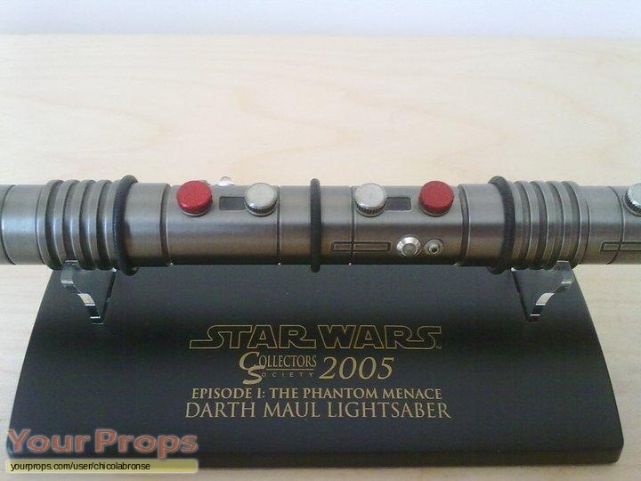Star Wars  The Phantom Menace Master Replicas movie prop